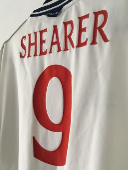 ENGLAND 1999/2001 HOME SHIRT #9 SHEARER
