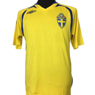 SWEDEN 2007/2008 HOME SHIRT