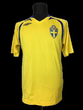 SWEDEN 2007/2008 HOME SHIRT