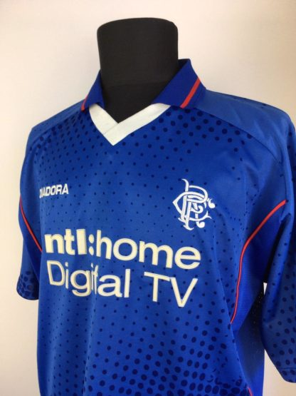 RANGERS 2002/2003 HOME SHIRT