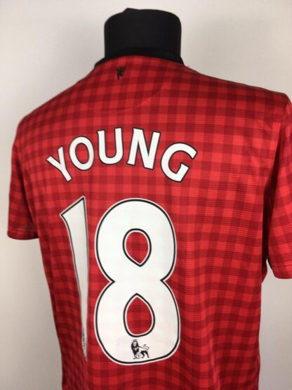 MANCHESTER UNITED 2012/2013 HOME SHIRT #18 YOUNG [WOMEN]