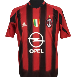 AC MILAN 2004/2005 HOME SHIRT