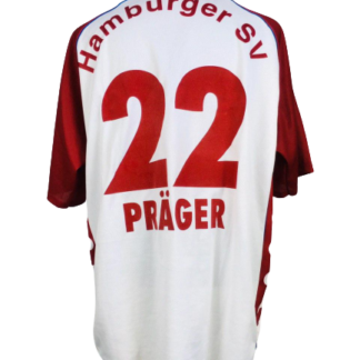 HAMBURGER SV 1999/2000 HOME SHIRT #22 PRAGER