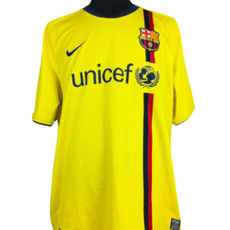 BARCELONA 2008/2010 AWAY SHIRT