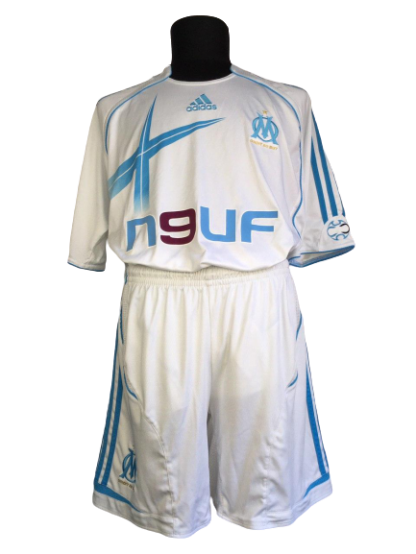 OLYMPIQUE MARSEILLE 2006/2007 HOME KIT