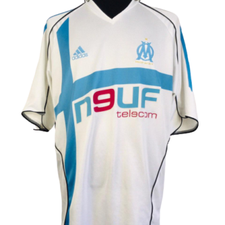 OLYMPIQUE MARSEILLE 2005/2006 HOME SHIRT