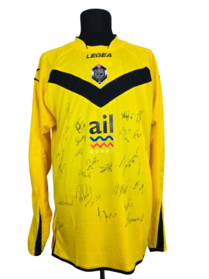 LUGANO 2013/2014 THIRD SHIRT [L/S] [BNWT] [SIGNED]