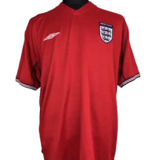ENGLAND 2002/2004 AWAY SHIRT [XL]