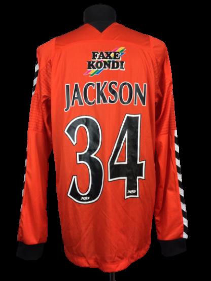 AGF AARHUS 2010/2011 THIRD SHIRT #34 JACKSON [L/S]