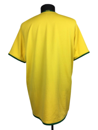 BRAZIL 2008/2010 HOME SHIRT [XL]