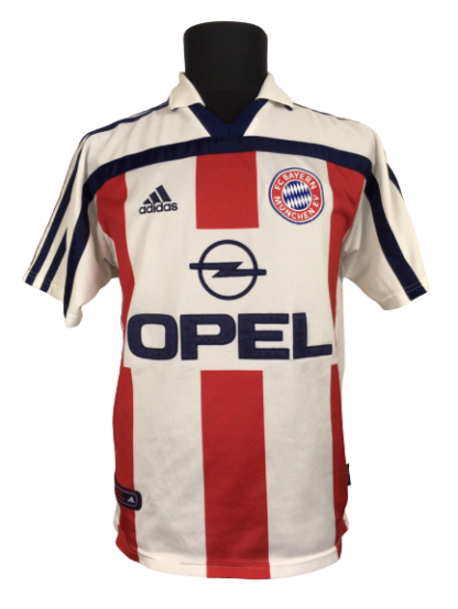 BAYERN MUNICH 1998/2000 AWAY SHIRT #13 SERGIO