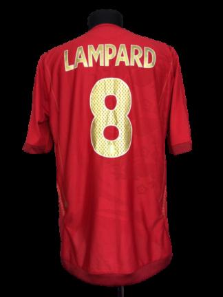 ENGLAND 2006/2008 AWAY SHIRT #8 LAMPARD