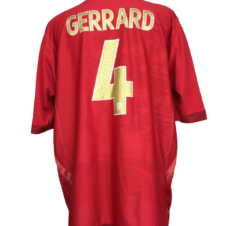 ENGLAND 2006/2008 AWAY SHIRT #4 GERRARD