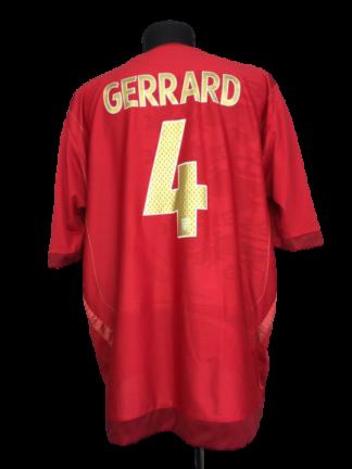 ENGLAND 2006/2008 AWAY SHIRT #4 GERRARD