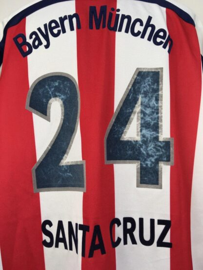 BAYERN MUNICH 1998/2000 AWAY SHIRT #24 SANTA CRUZ