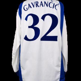 DYNAMO KYIV 2000/2001 HOME SHIRT #32 GAVRANCIC [L/S]