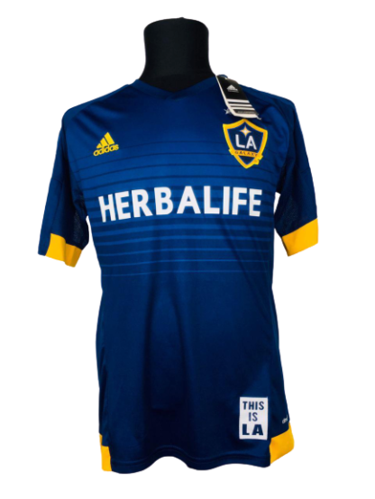 LA GALAXY 2015/2016 AWAY SHIRT#8 GERRARD [BNWT]