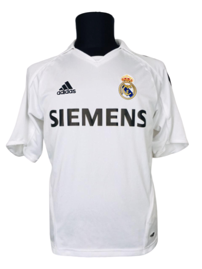 REAL MADRID 2005/2006 HOME SHIRT #23 BECKHAM [YOUTHS]