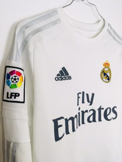 REAL MADRID 2015/2016 HOME SHIRT [L/S]