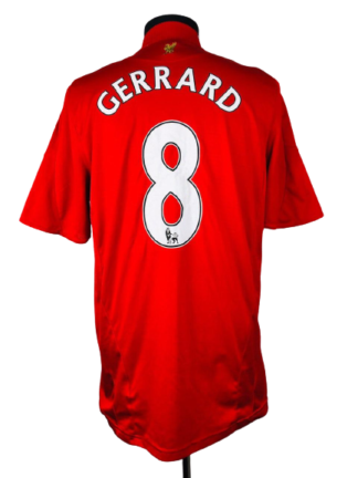 LIVERPOOL 2008/2010 HOME SHIRT #8 GERRARD