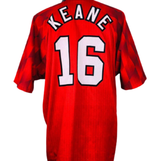 MANCHESTER UNITED 1996/1998 HOME SHIRT #16 KEANE