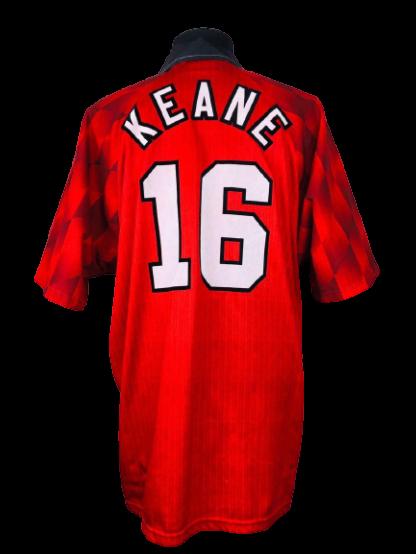 MANCHESTER UNITED 1996/1998 HOME SHIRT #16 KEANE