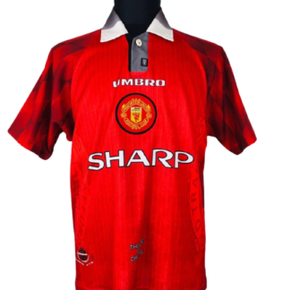 MANCHESTER UNITED 1996/1998 HOME SHIRT