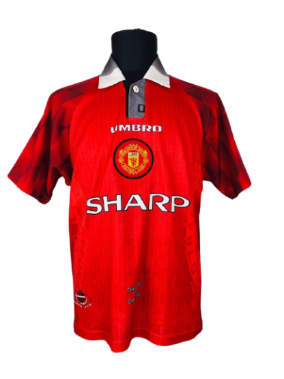 MANCHESTER UNITED 1996/1998 HOME SHIRT [M]