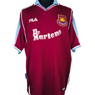 WEST HAM 1999/2001 HOME SHIRT