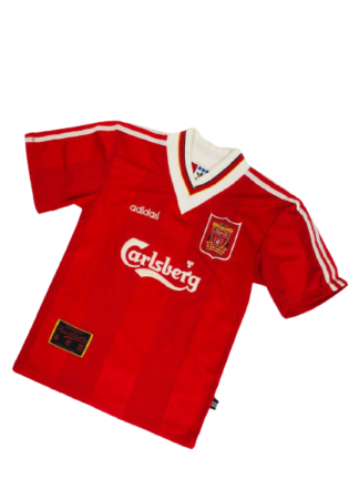 LIVERPOOL 1995/1996 HOME SHIRT [XS]