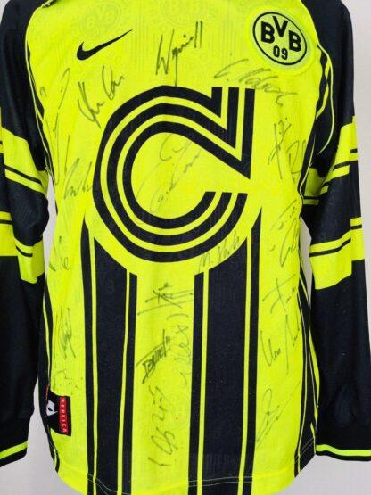 BORUSSIA DORTMUND 1996/1997 CUP SHIRT [SIGNED]