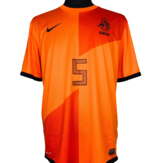 NETHERLANDS 2012/2013 HOME SHIRT #5