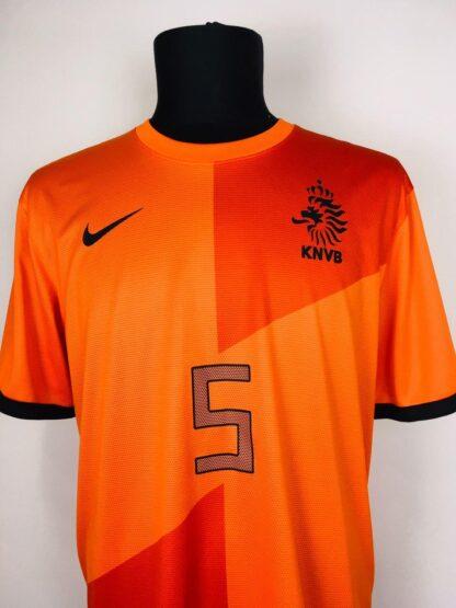 NETHERLANDS 2012/2013 HOME SHIRT #5