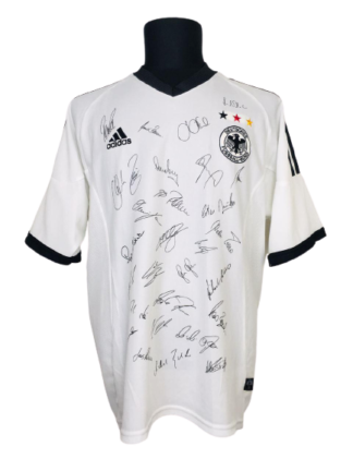 GERMANY 2002/2004 HOME SHIRT [SIGNED]