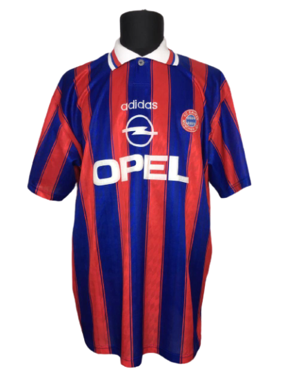 BAYERN MUNICH 1995/1997 HOME SHIRT
