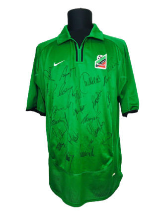 FC TIROL INNSBRUCK 2001/2002 HOME SHIRT [SIGNED]