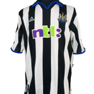 NEWCASTLE UNITED 2000/2001 HOME SHIRT