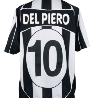 JUVENTUS 2002/2003 HOME SHIRT #10 DEL PIERO