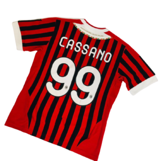 AC MILAN 2011/2012 HOME SHIRT #99 CASSANO [YOUTHS]