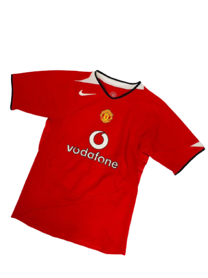 MANCHESTER UNITED 2004/2006 HOME SHIRT [YOUTHS]