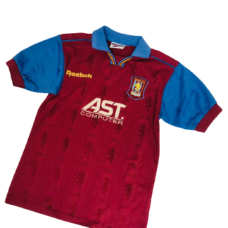 ASTON VILLA 1995/1997 HOME SHIRT [YOUTHS]