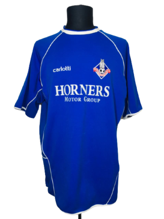 OLDHAM ATHLETIC 2004/2005 HOME SHIRT