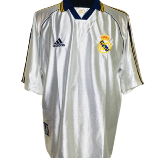 REAL MADRID 1998/2000 HOME SHIRT