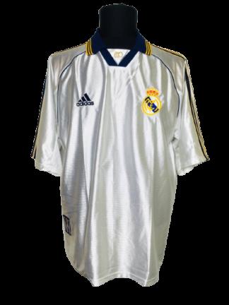 REAL MADRID 1998/2000 HOME SHIRT