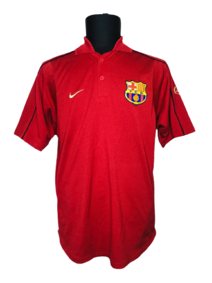 BARCELONA 2001/2002 TRAINING POLO