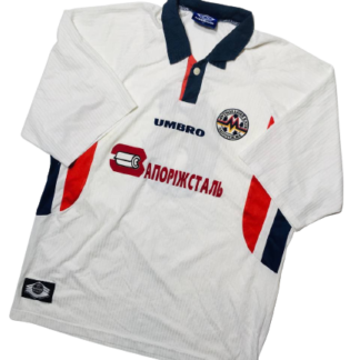 METALURH ZAPORIZHYA 1999/2000 AWAY SHIRT #6 [MATCH WORN]