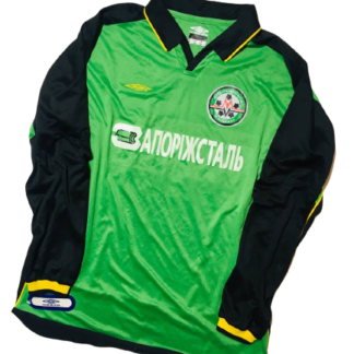 METALURH ZAPORIZHYA 2002/2003 AWAY SHIRT #26 [MATCH ISSUED] [BNWT]