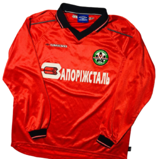 METALURH ZAPORIZHYA 2000/2001 HOME SHIRT #4 [MATCH WORN]