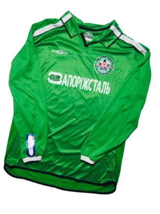 METALURH ZAPORIZHYA 2002/2003 AWAY SHIRT #23 [MATCH ISSUED] [BNWT]