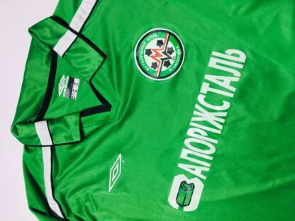 METALURH ZAPORIZHYA 2002/2003 AWAY SHIRT #19 [MATCH ISSUED]
